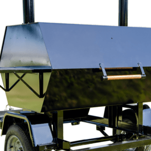 Commercial BBQ and Trailer